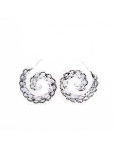 Criollas espiral de plata...
